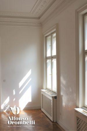 Alta decorazione: pareti bianche