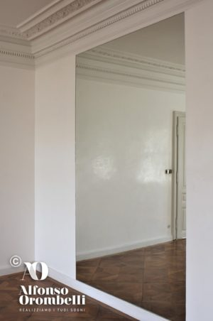 high wall decoration: white wall