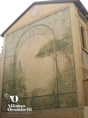 Alta decorazione, facciata esterna
