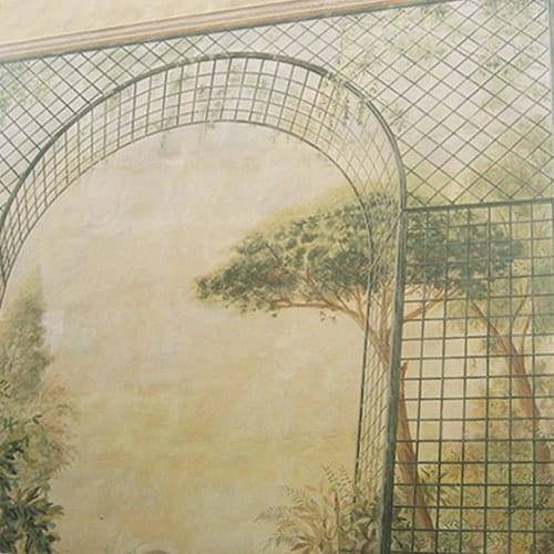 Decorazione murale esterna