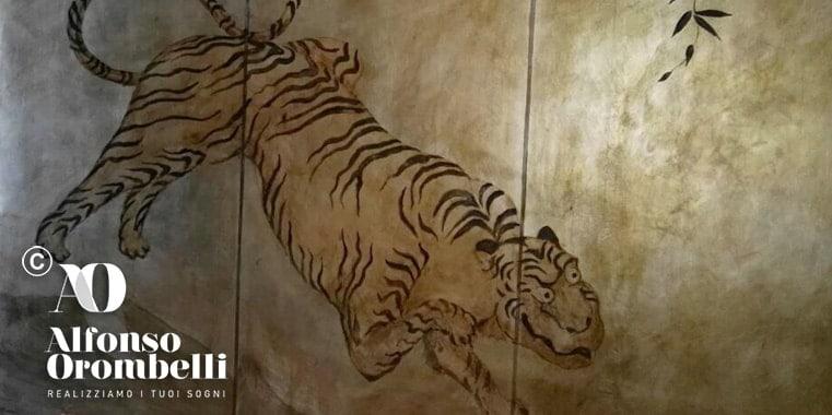 Alta Decorazione la tigre