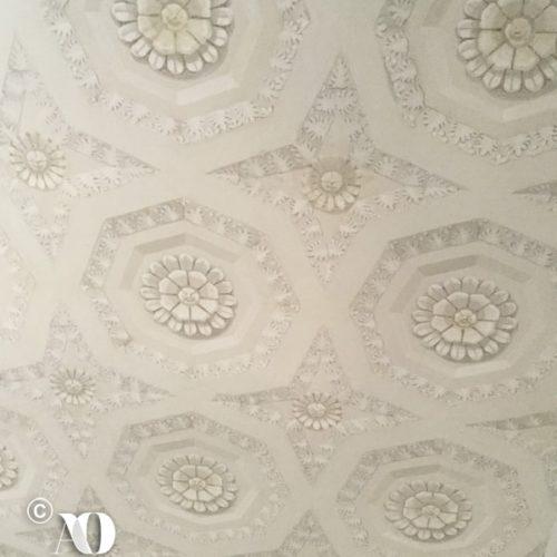 Alta decorazione murale: particolare soffitto