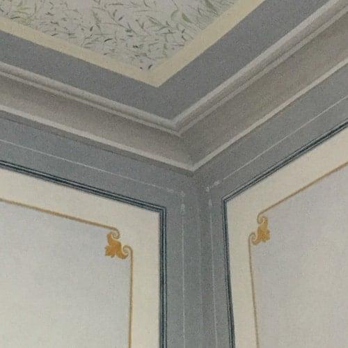 Decorazione murale: cornice