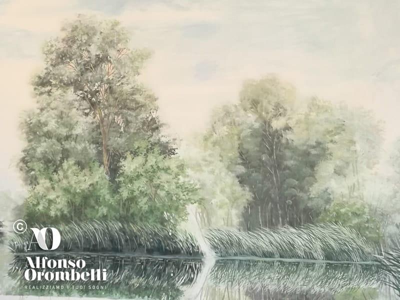 Alta Decorazione, alberi sul Danubio