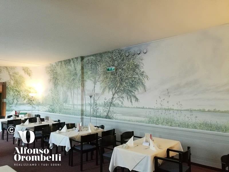 Alta Decorazione murale, sala ristorante