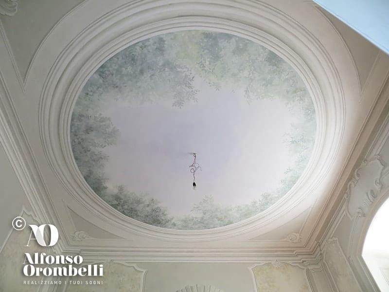 Alta Decorazione murale: conchiglia: ceiling