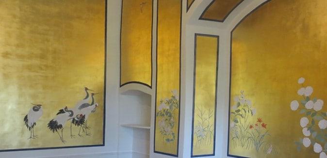 Alta Decorazione: foglie d'oro