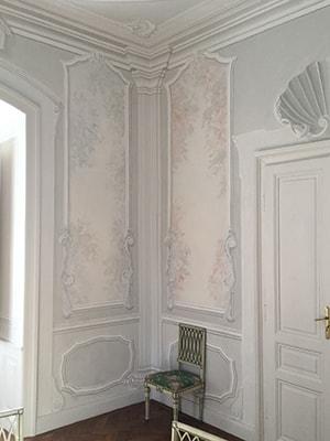 ornamento muro, alta decorazione