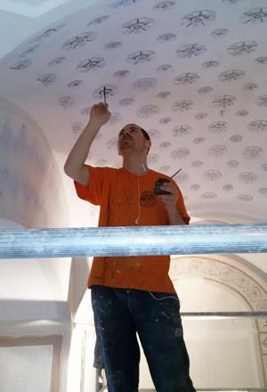 Alfonso Orombelli decoratore: lo Staff