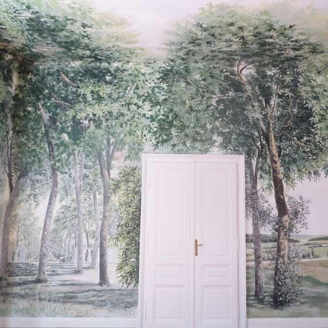 Alta Decorazione murale: alberi e natura