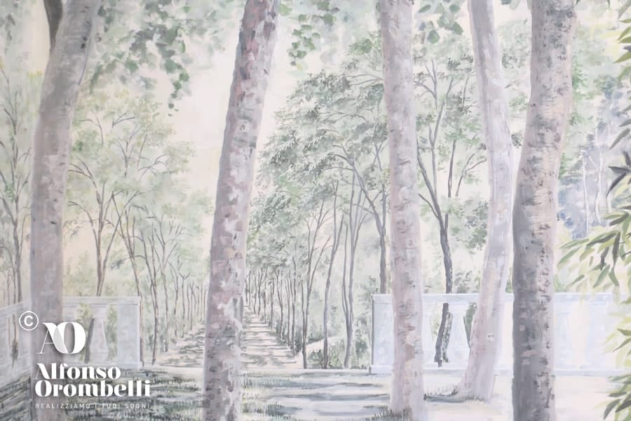 Alta Decorazione: alberi boschereccia