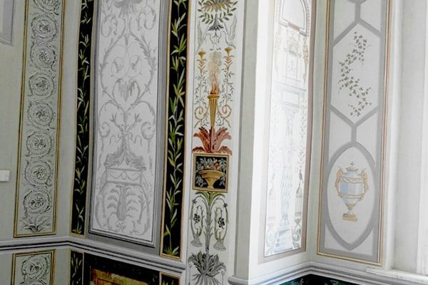 Interior Paint: grotesques detail