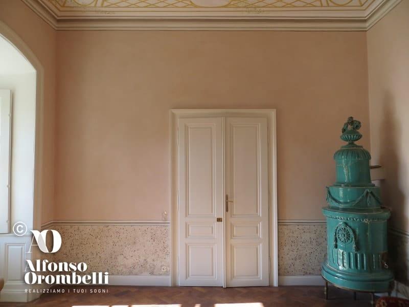 Alta decorazione rosa