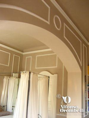 Decorazione murale beige