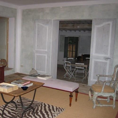 Decorazione murale casa in Toscana